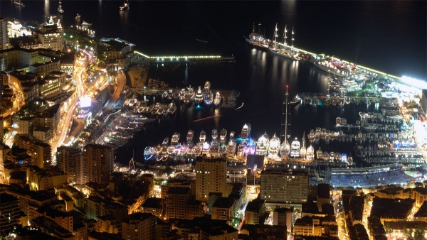 Монако - нощите не спят