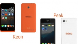 Телефони с Firefox OS: Peak и Keon